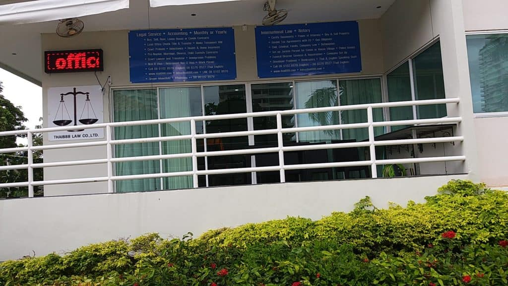 thai888 law has 2 office in the same building